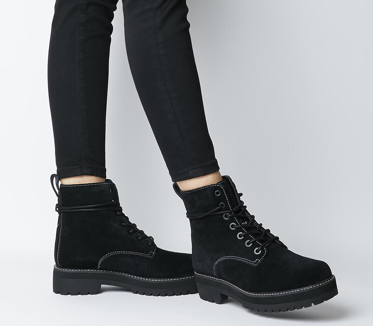 Timberland Lux Stack Boots Black Hammer
