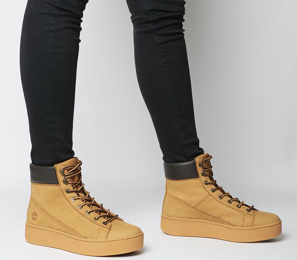 Marblesea Hightop Sneaker Boots