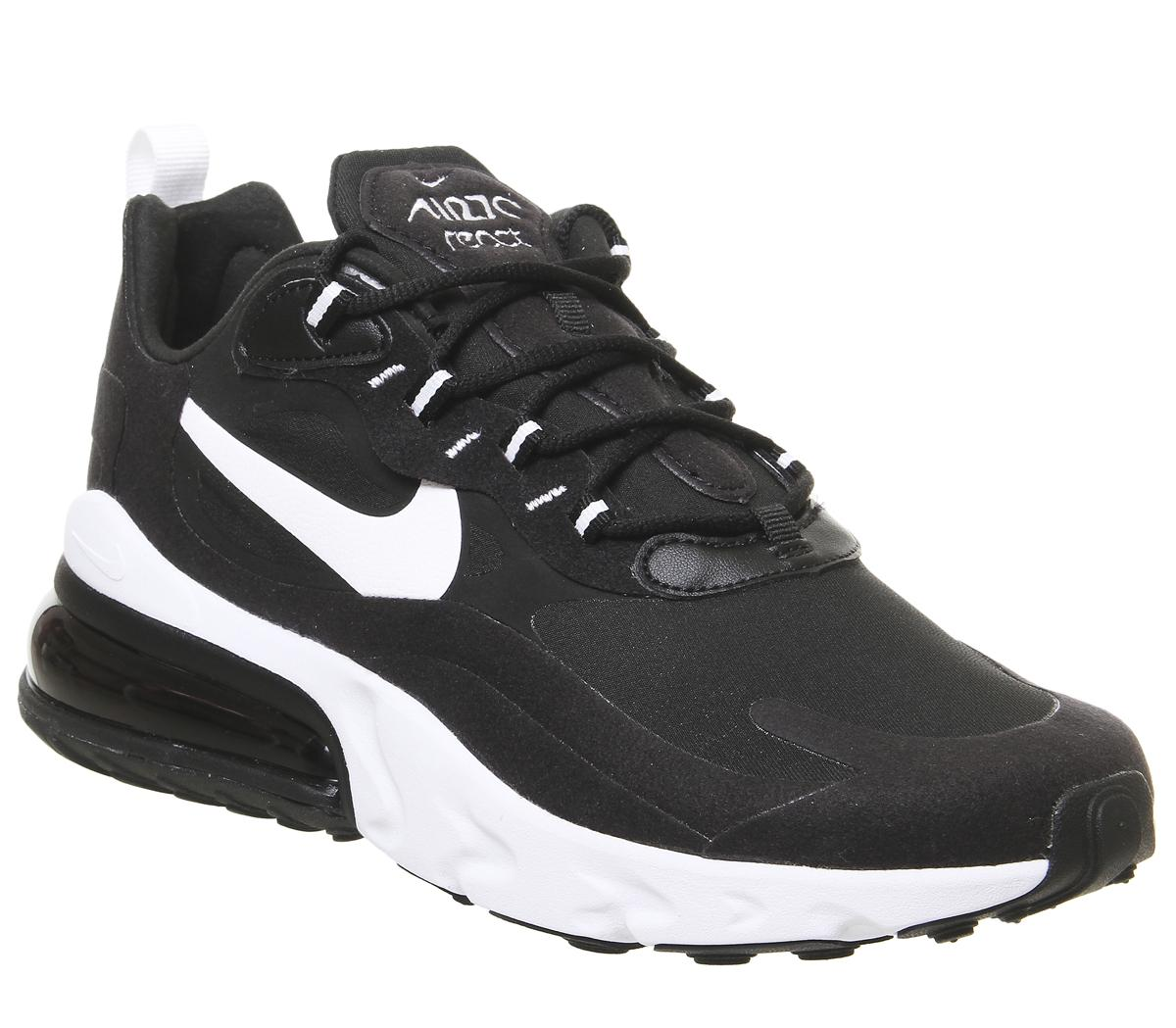 Nike Air Max 270 React Trainers Black
