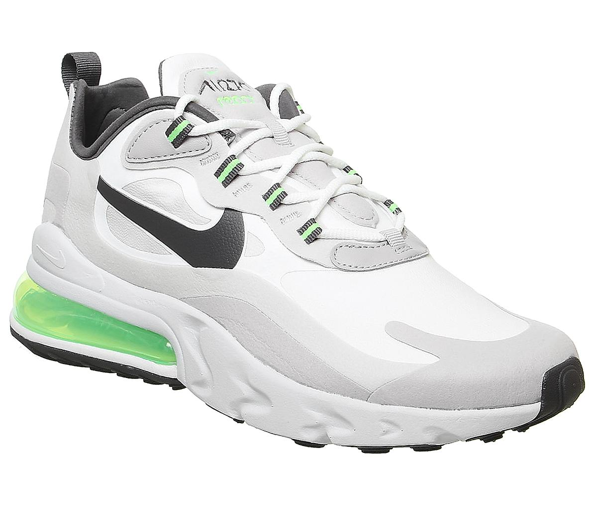 referir llave inglesa transferencia de dinero  Nike Air Max 270 React Summit White Green Vast Grey Silver Lilac Grey -  Unisex Sports