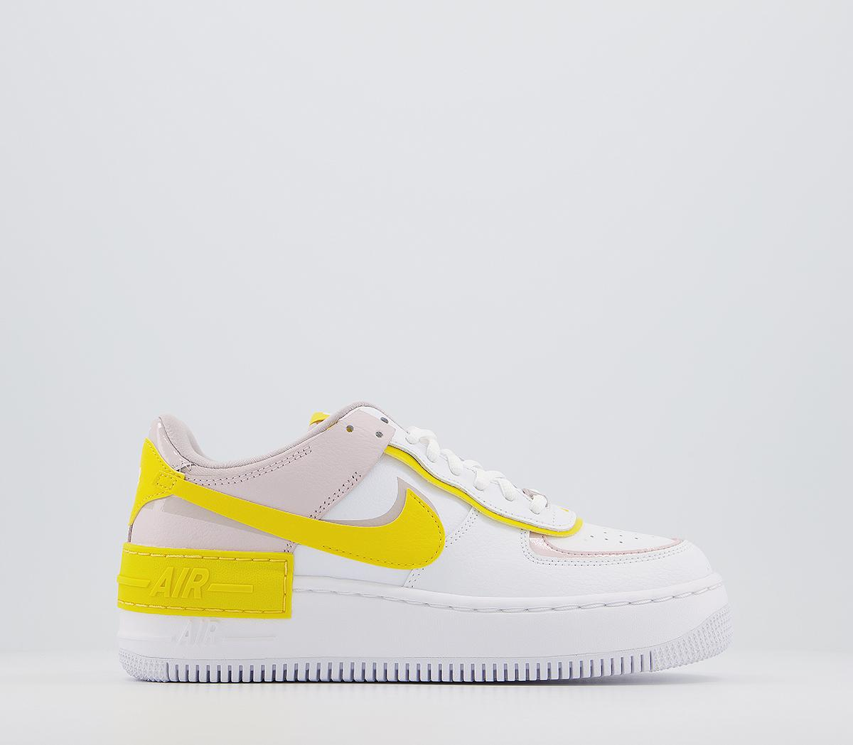 Nike Air Force 1 Shadow Trainers White