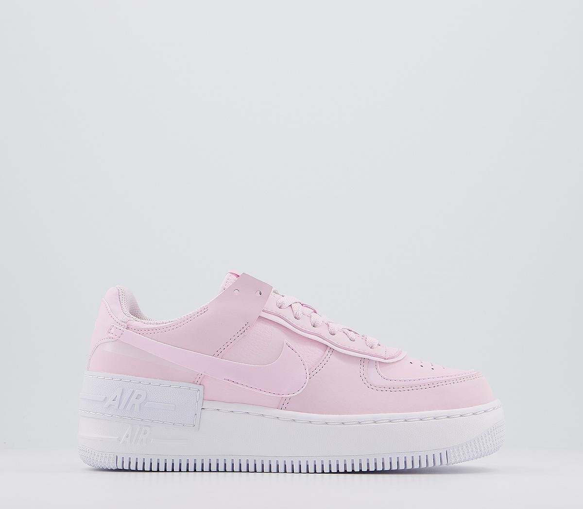 Nike Air Force 1 Shadow Trainers Pink Foam White Hers Trainers Released as a performance silo, nike were targeting. air force 1 shadow trainers