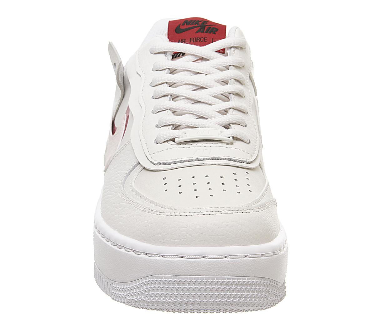 Nike Air Force 1 Shadow Phantom Echo Pink Gym Red Unisex Sports Nike is rolling out a newly designed silhouette titled the air force 1 shadow. air force 1 shadow