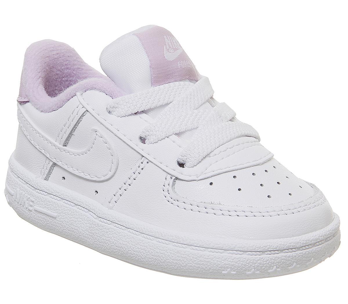 Nike Air Force 1 Crib Trainers White
