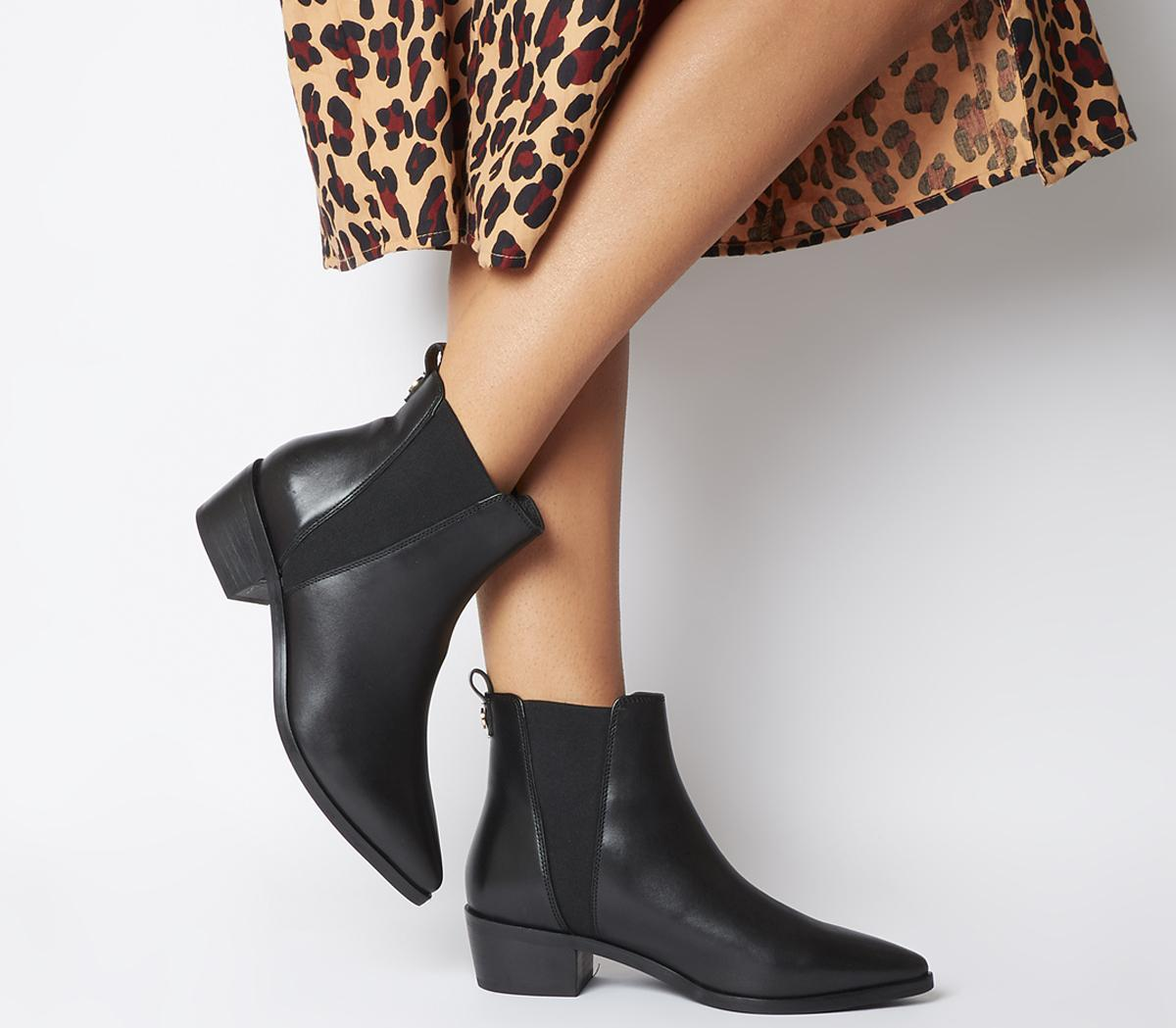 Office Alara Pointed Chelsea Boots