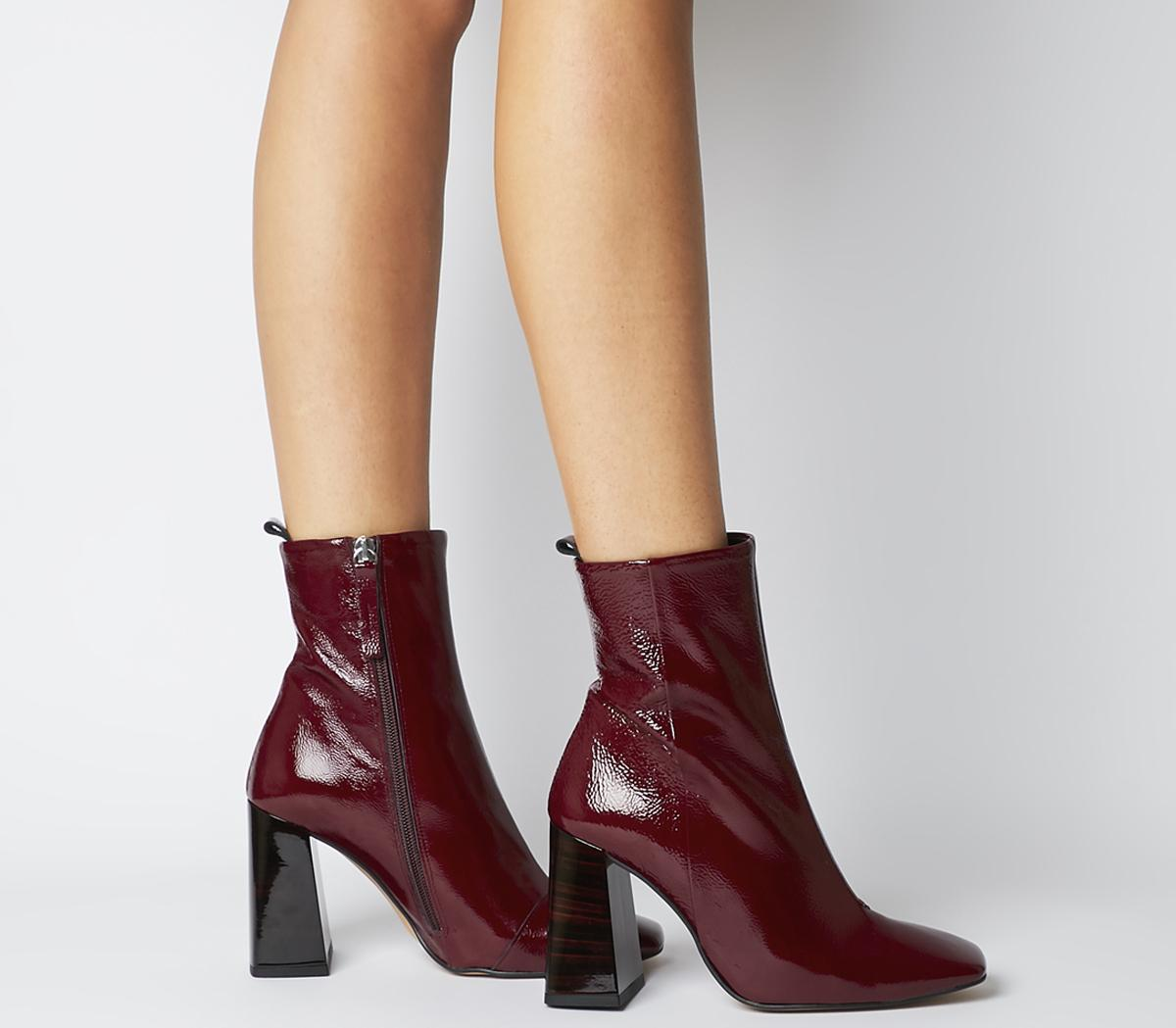 All Together Square Toe Block Heels