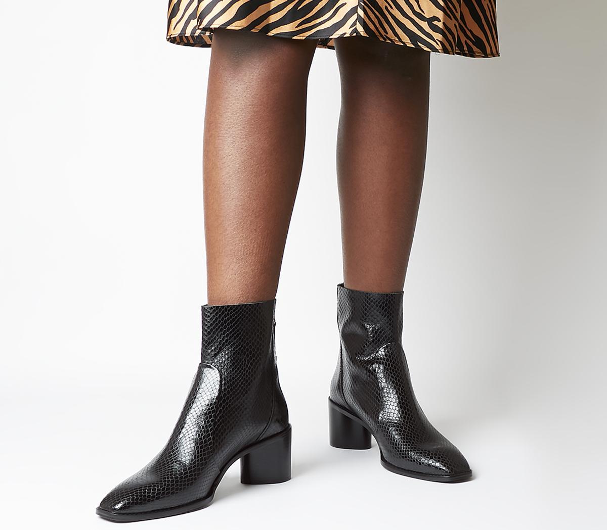 Achilles Unlined Block Heel