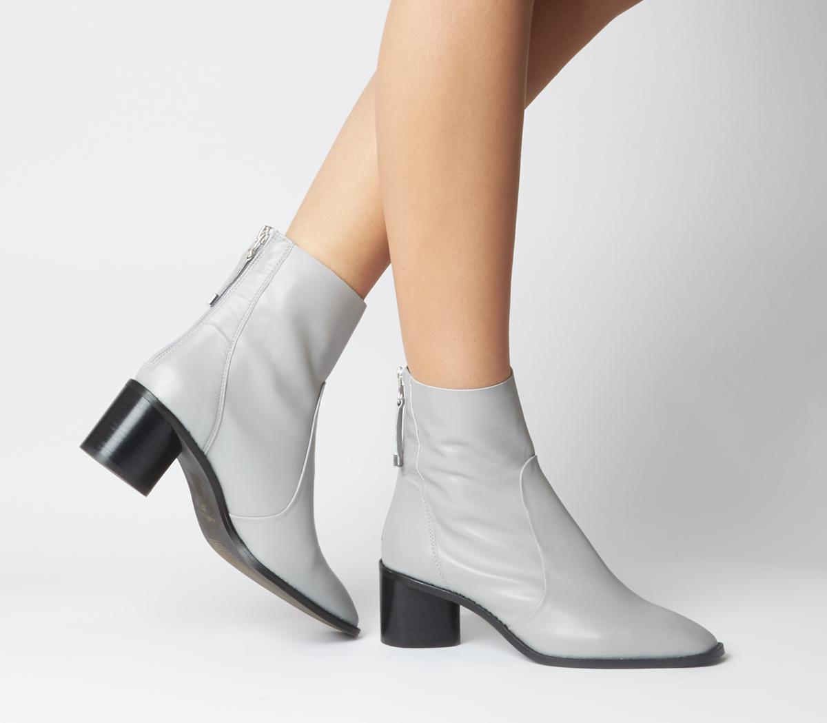Achilles Unlined Block Heels