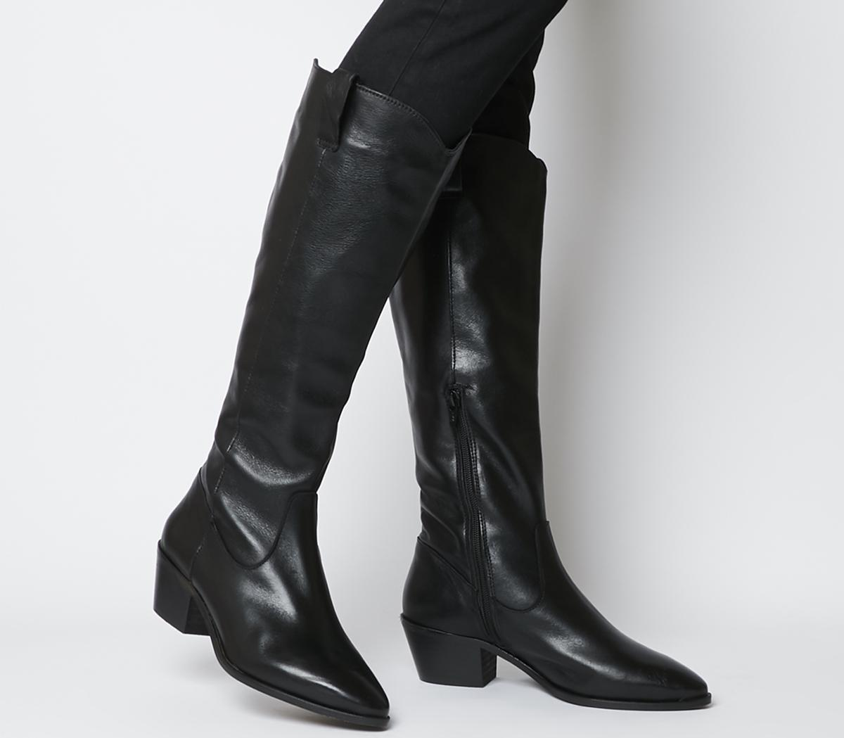 Kountry Casual Western Knee Boots