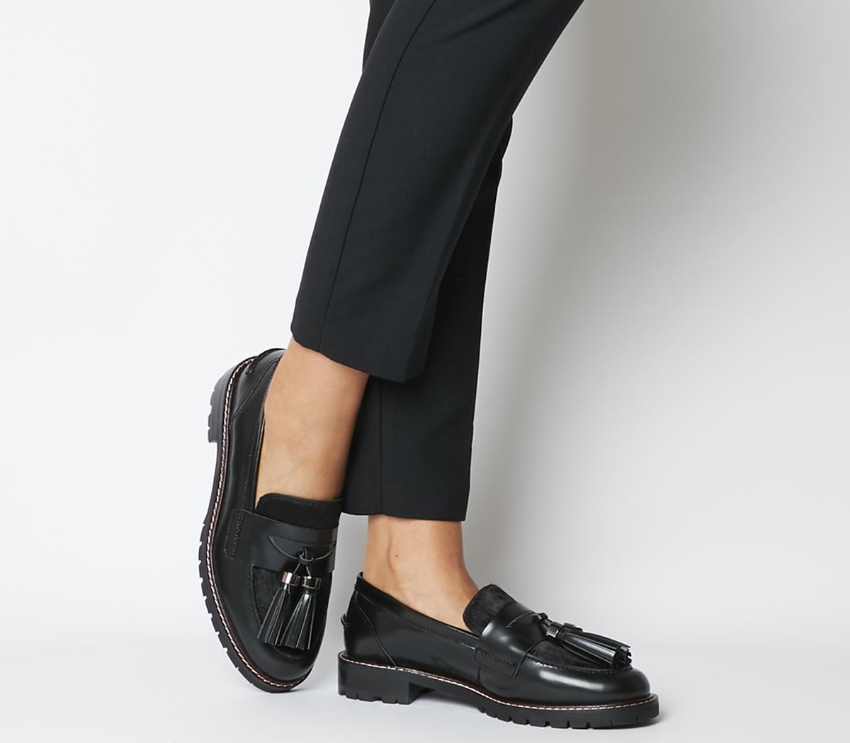 Frame Tassel Loafers