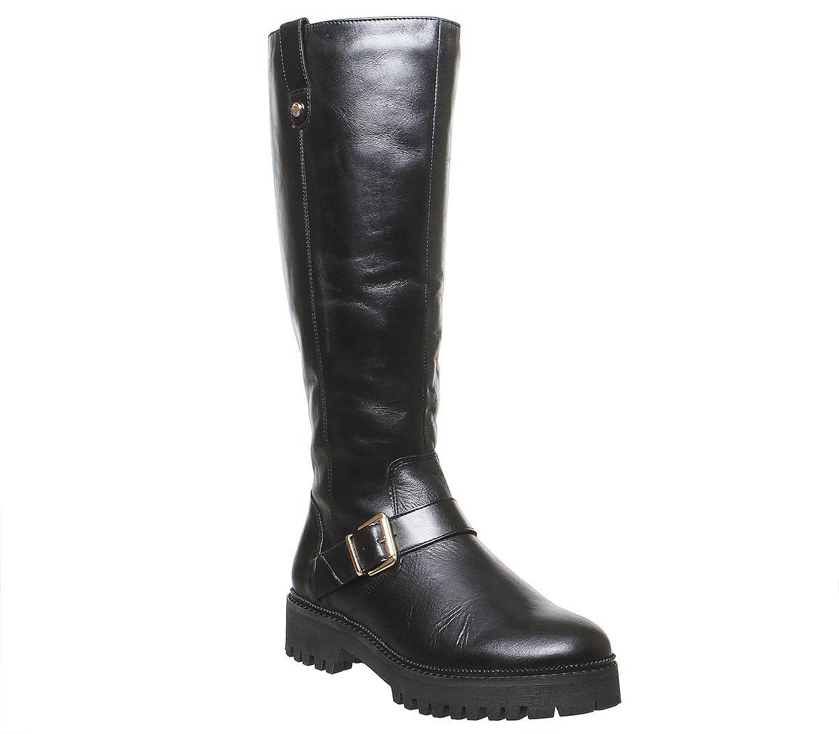 Office Keri Flat Casual Fur Lined Knee