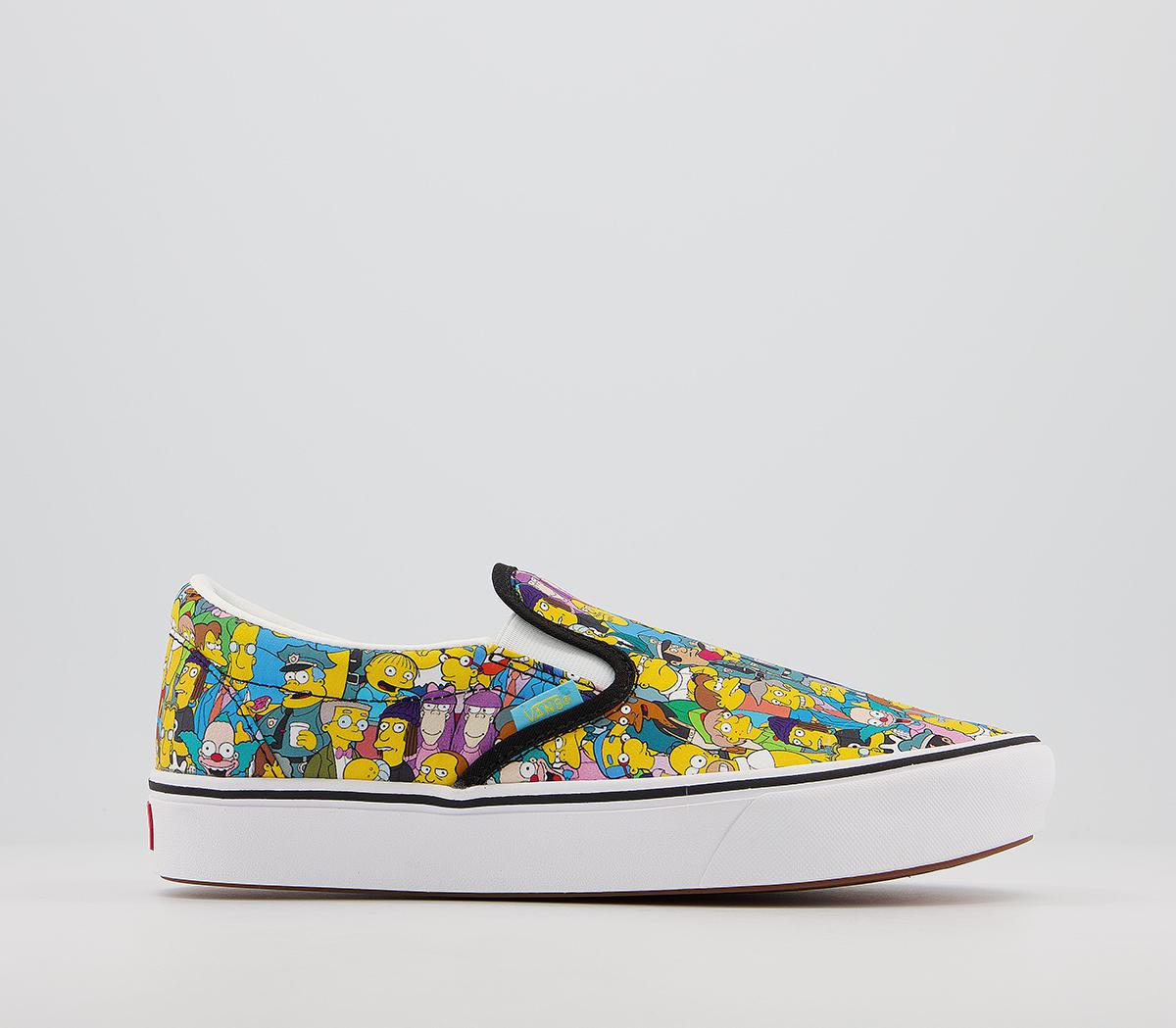 Vans Comfycush Slip On Trainers The