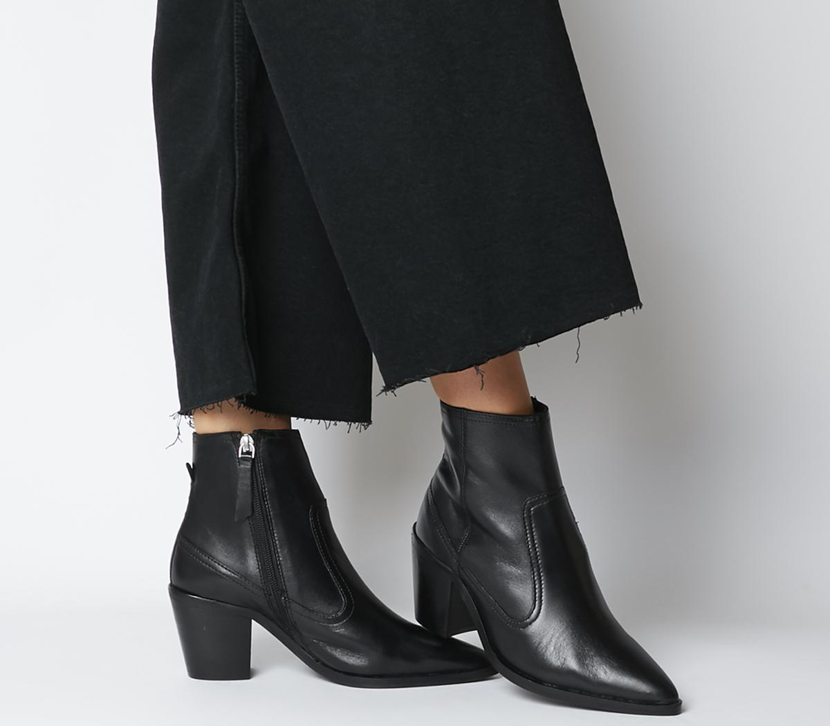 Office Anais Pointed Western Boots