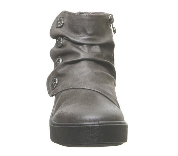 Blowfish Malibu Dragon Fly Boots Castle Grey Verona - Ankle Boots oMRdSU1