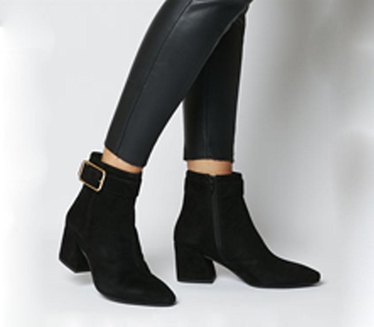 Vagabond Olivia Buckle Boot Black