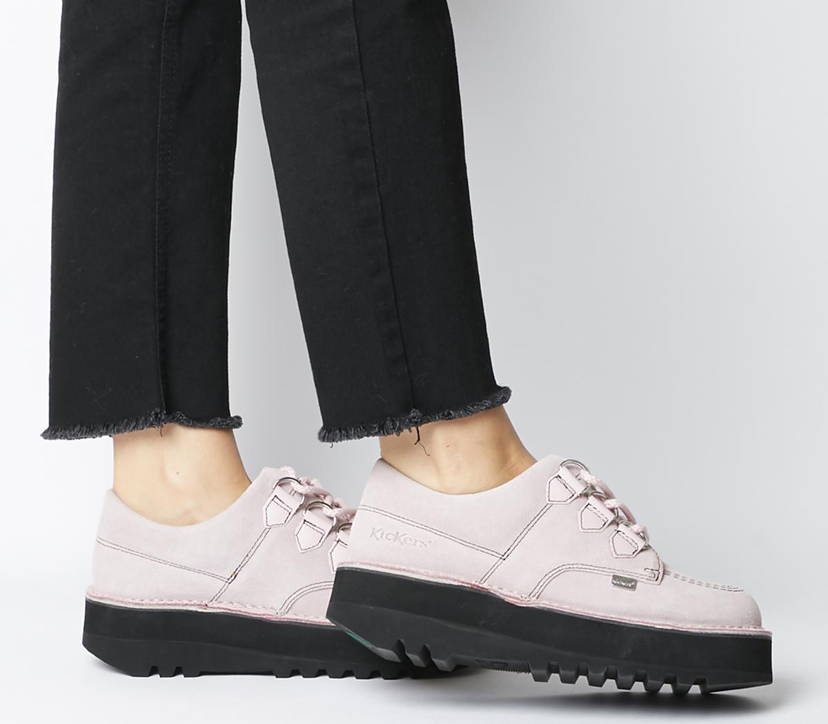 Kickers Kick Lo Creepy Barely Pink - Flats