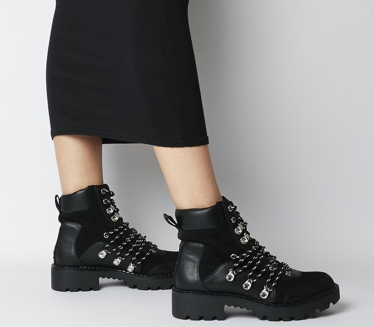 Fali Lace Up Boots