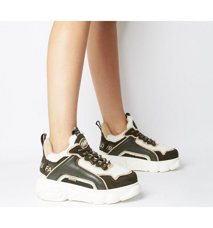 Buffalo Buffalo Chai Sneaker OFF WHITE