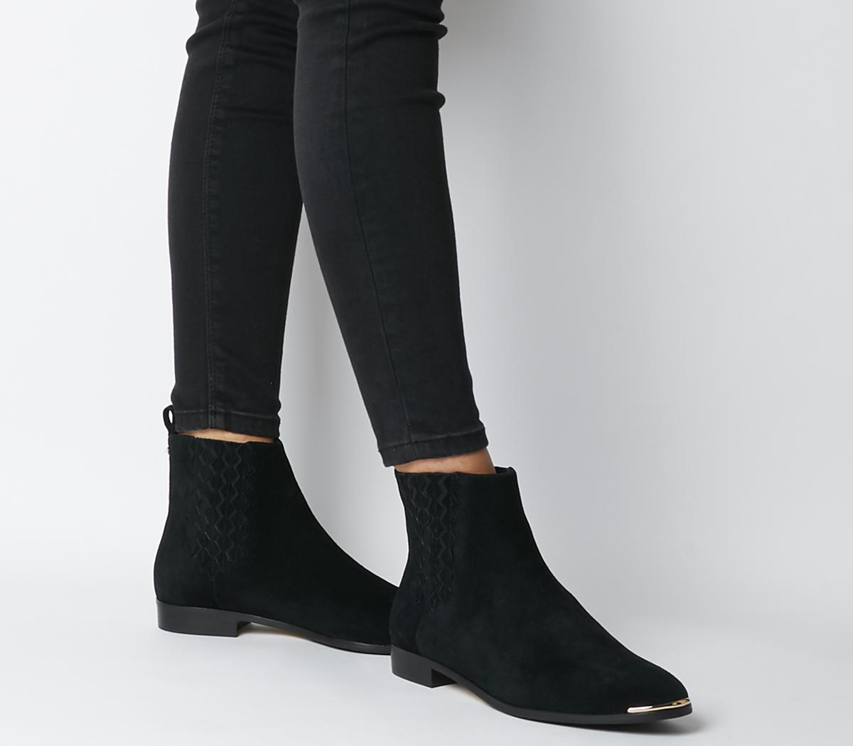 Ted Baker Iveca Chelsea Boots Black