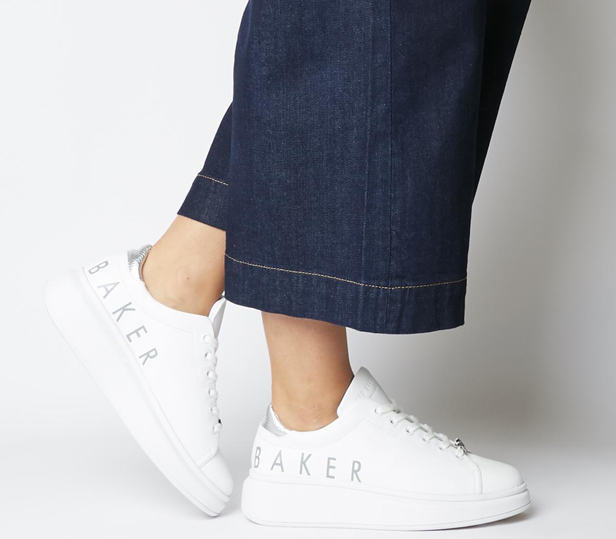 Ted Baker Ailbaa Sneakers White - Flats