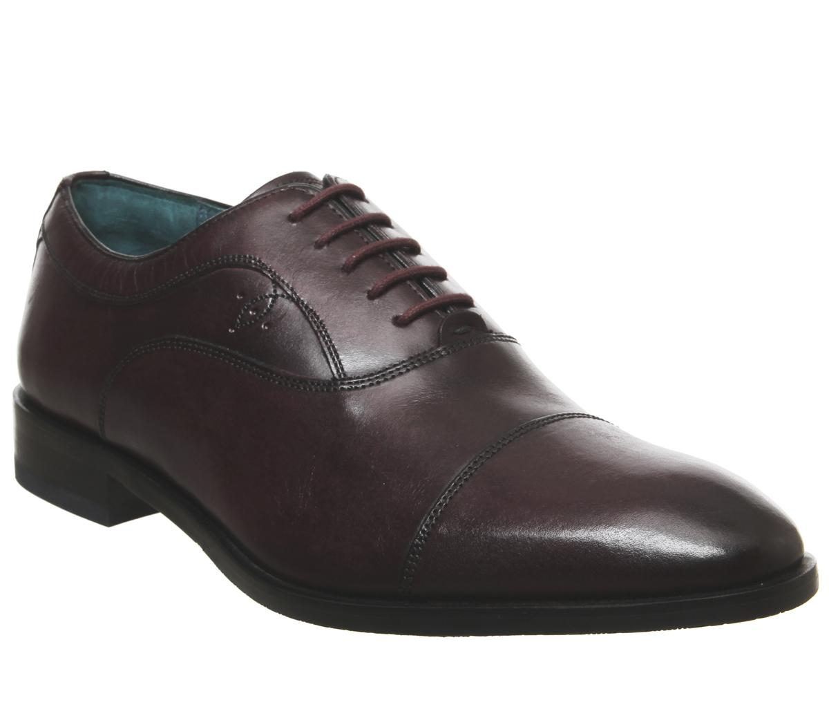 Fually Toe Cap Shoes