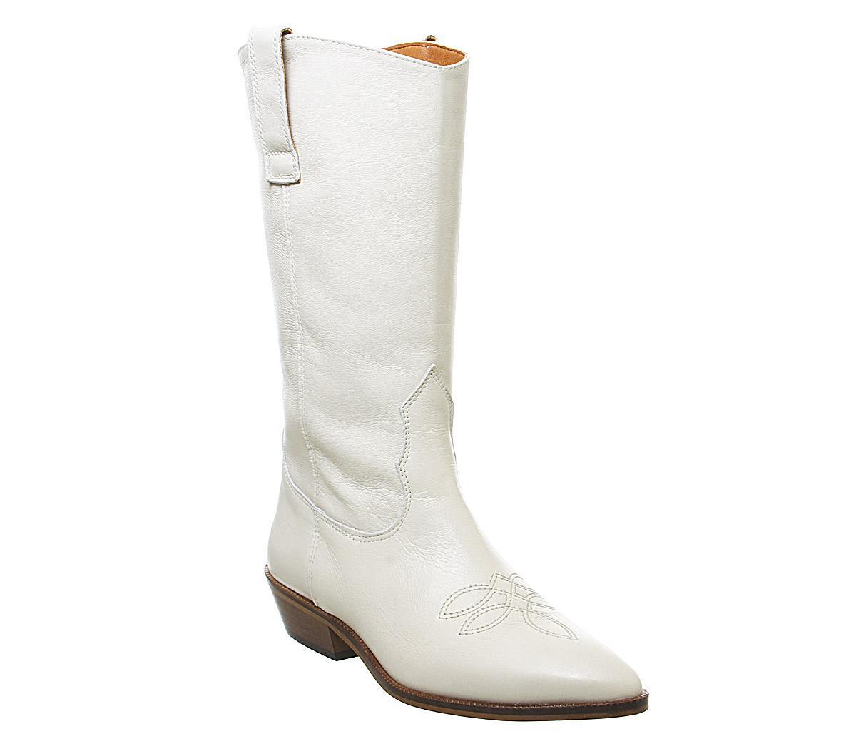 Kalvin- Western Calf Boots