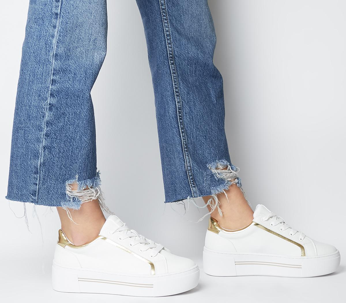 Fhantom Flatform Lace Up Trainers