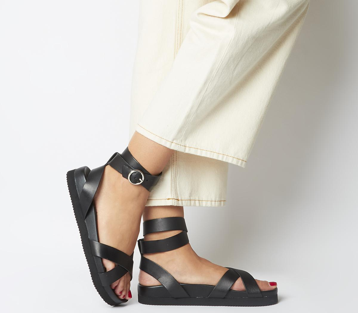 Superior- Ankle Strap Footbed Sandals