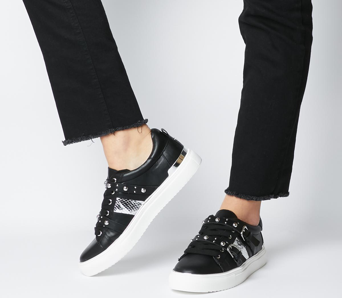 Freight Strappy Lace Up Trainers
