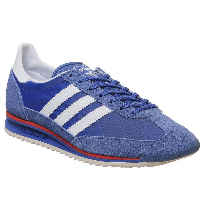N/A adidas Sl 72 BLUE WHITE HIRES RED