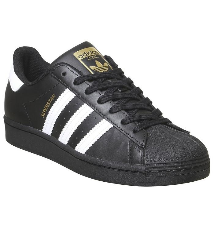 N/A adidas Superstar BLACK WHITE