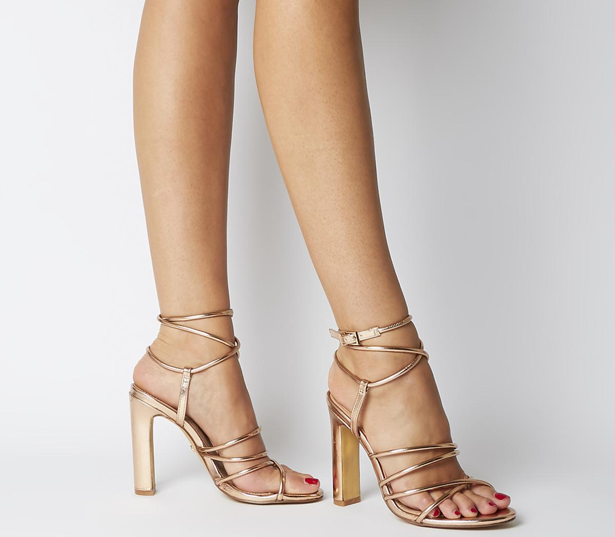 Harmonia Strappy Block Heels