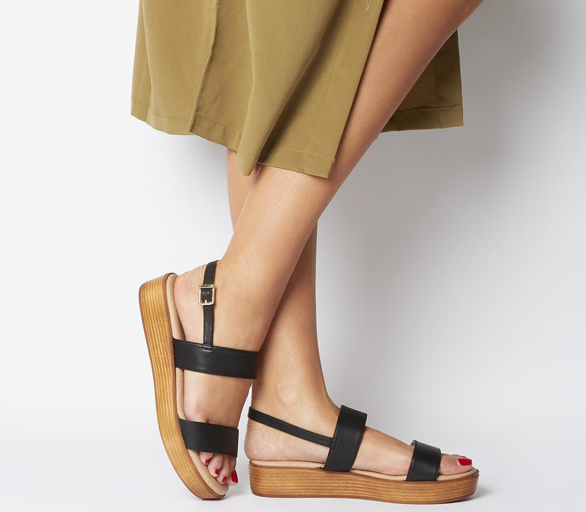 Madison Double Strap Sandals