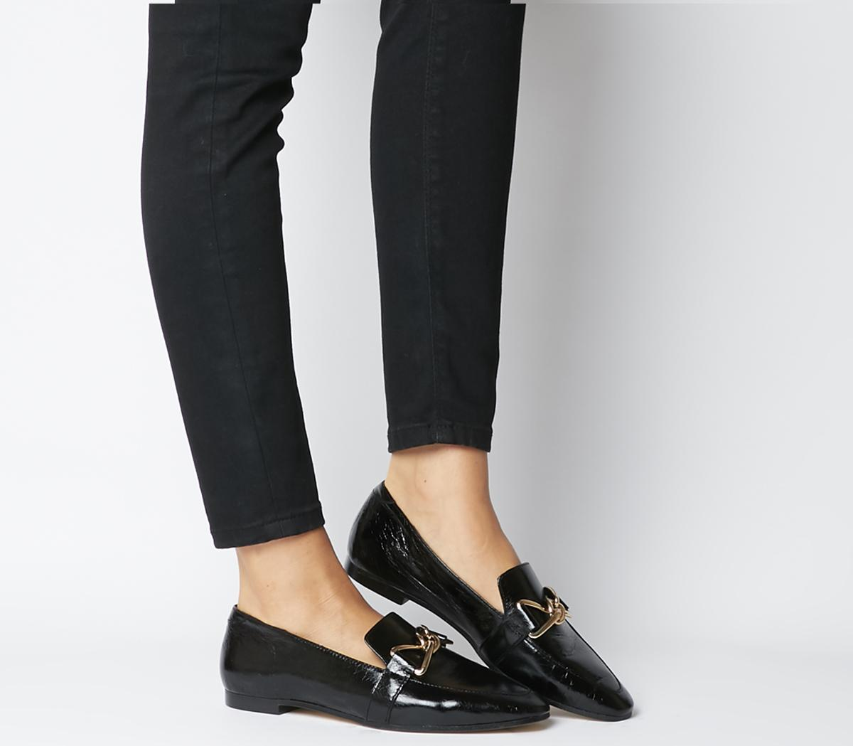 Favoured Bow Trim Loafers