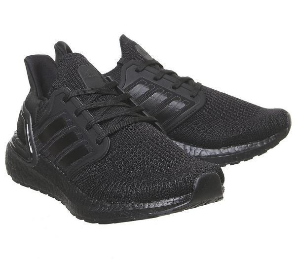 adidas Ultraboost Ultra Boost 20 Trainers Black Boost F - Hers trainers Ix0icjL