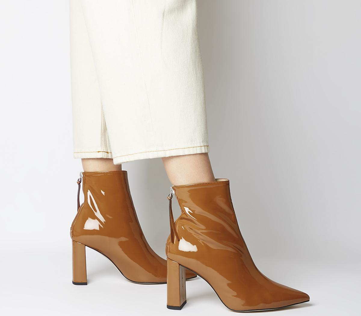 Alpha Pointed Back Zip Boots