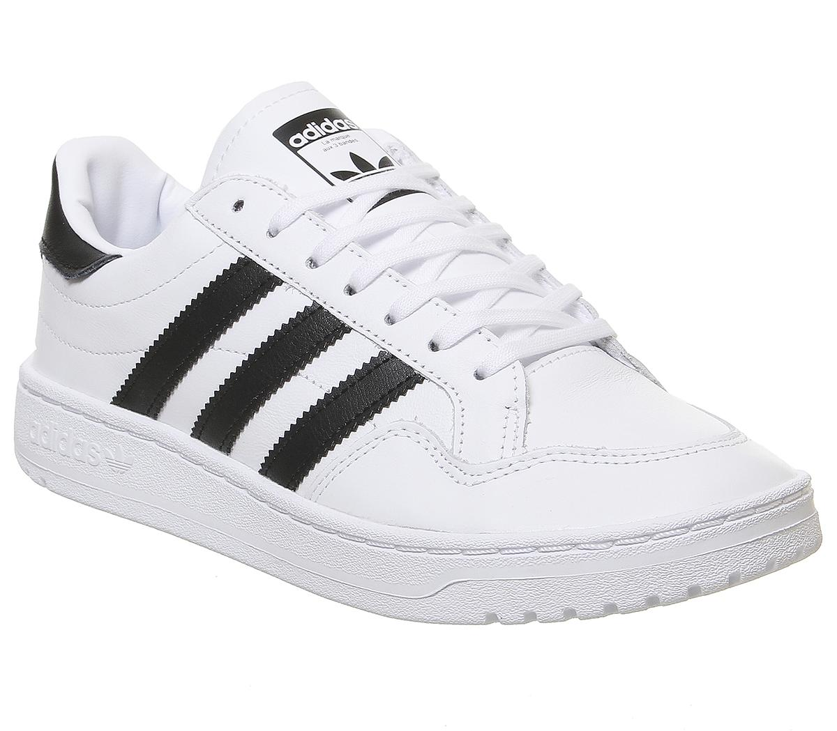 adidas Team Court Trainers White Core