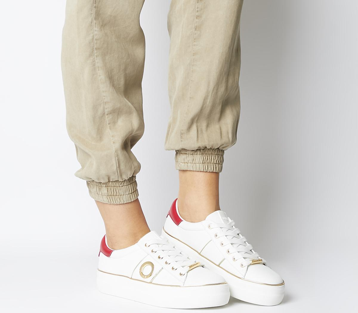 Fury Branded Lace Up Trainers