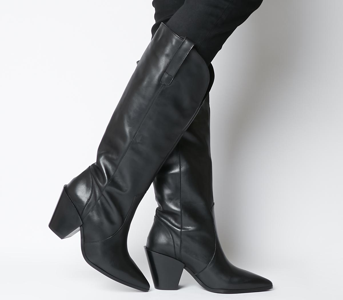 Kash Western Knee Boots
