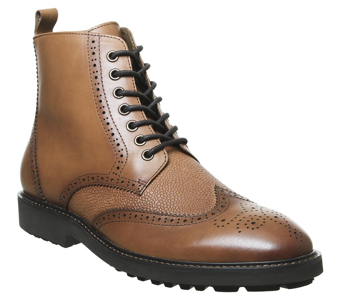 Benedict Lace Up Brogue Boots