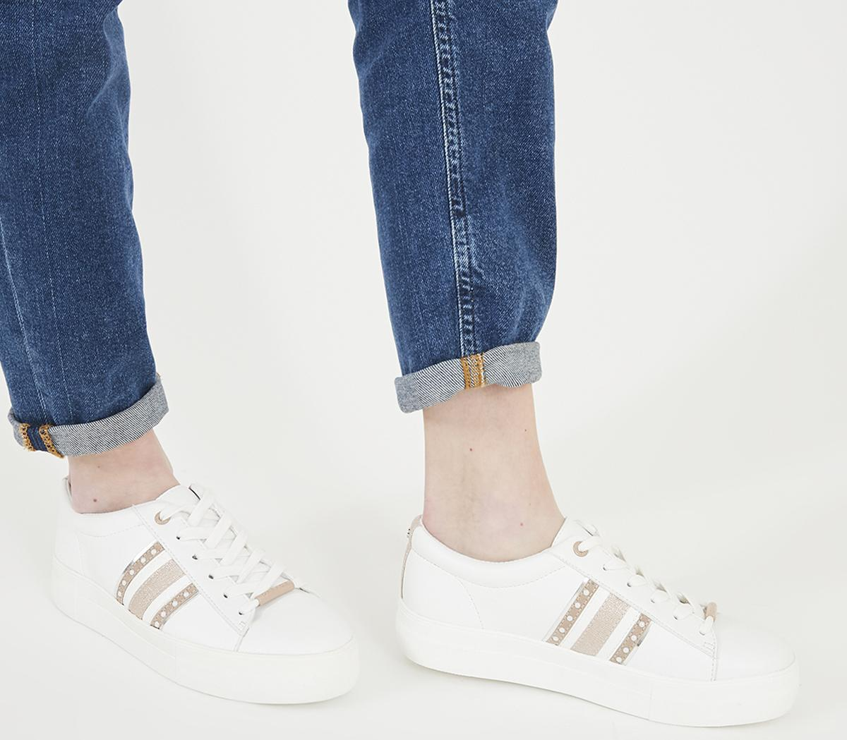 Freestyle Lace Up Trainers