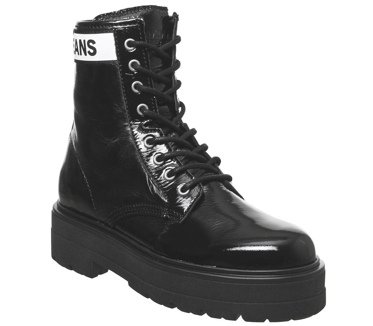 flatform boots black