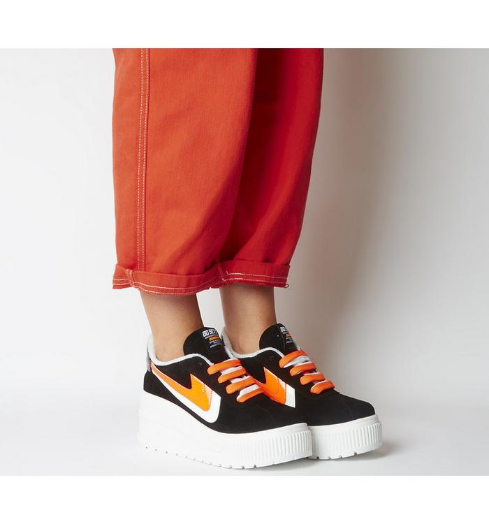 Go Sexy Go Sexy Sonic Sneaker BLACK WHITE ORANGE