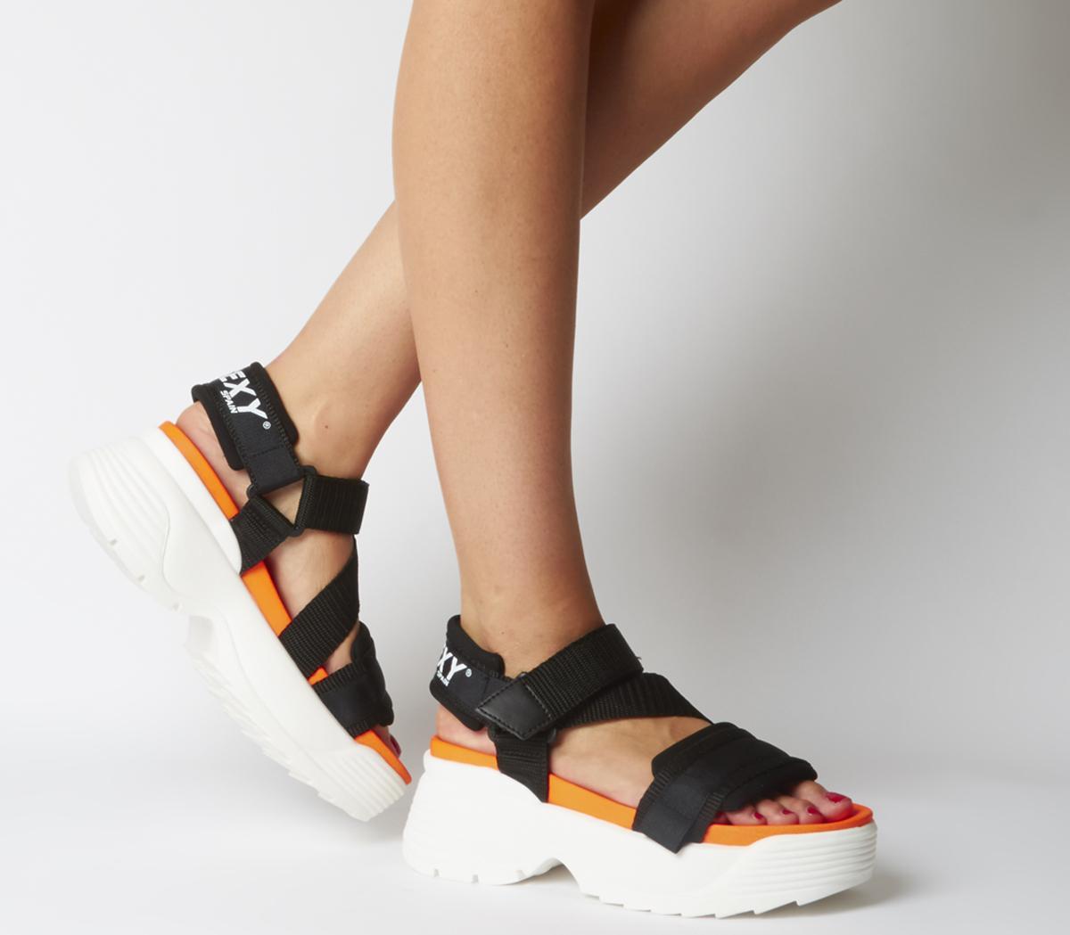 Tube Platform Sandals