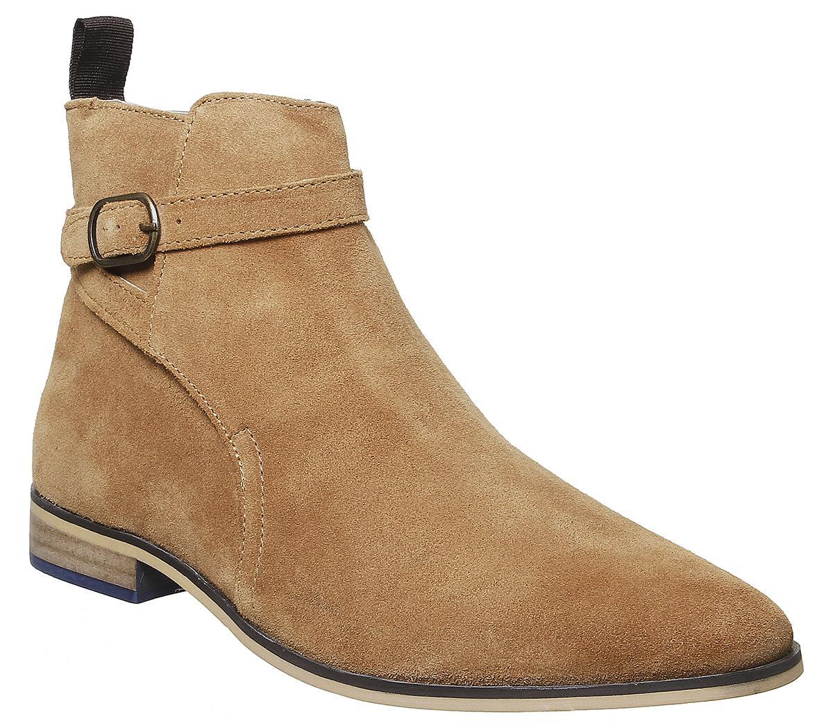 Brace Buckle Boots