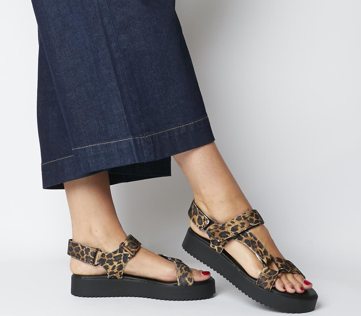 Office Sanity Sporty Strap Sandals