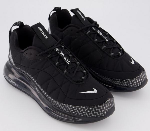 Nike Nike Mx-720-818 Trainers Black Black Anthracite - His trainers c2Hbgcg