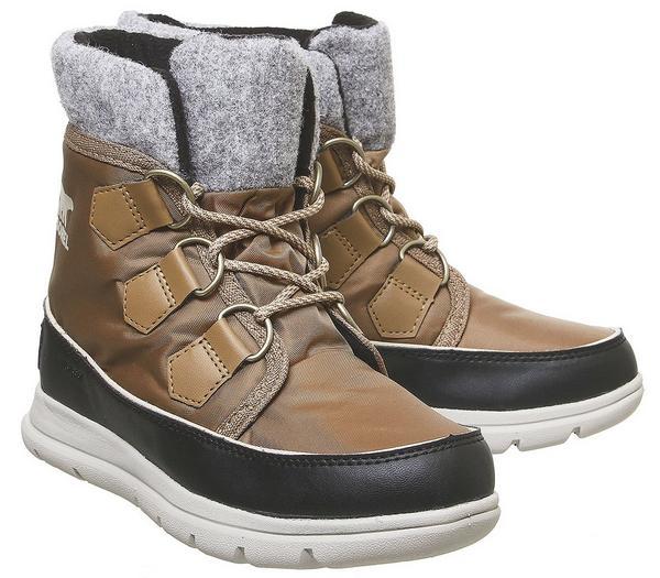 Sorel Explorer Carnival Boots Elk - Ankle Boots 3uGsi5d