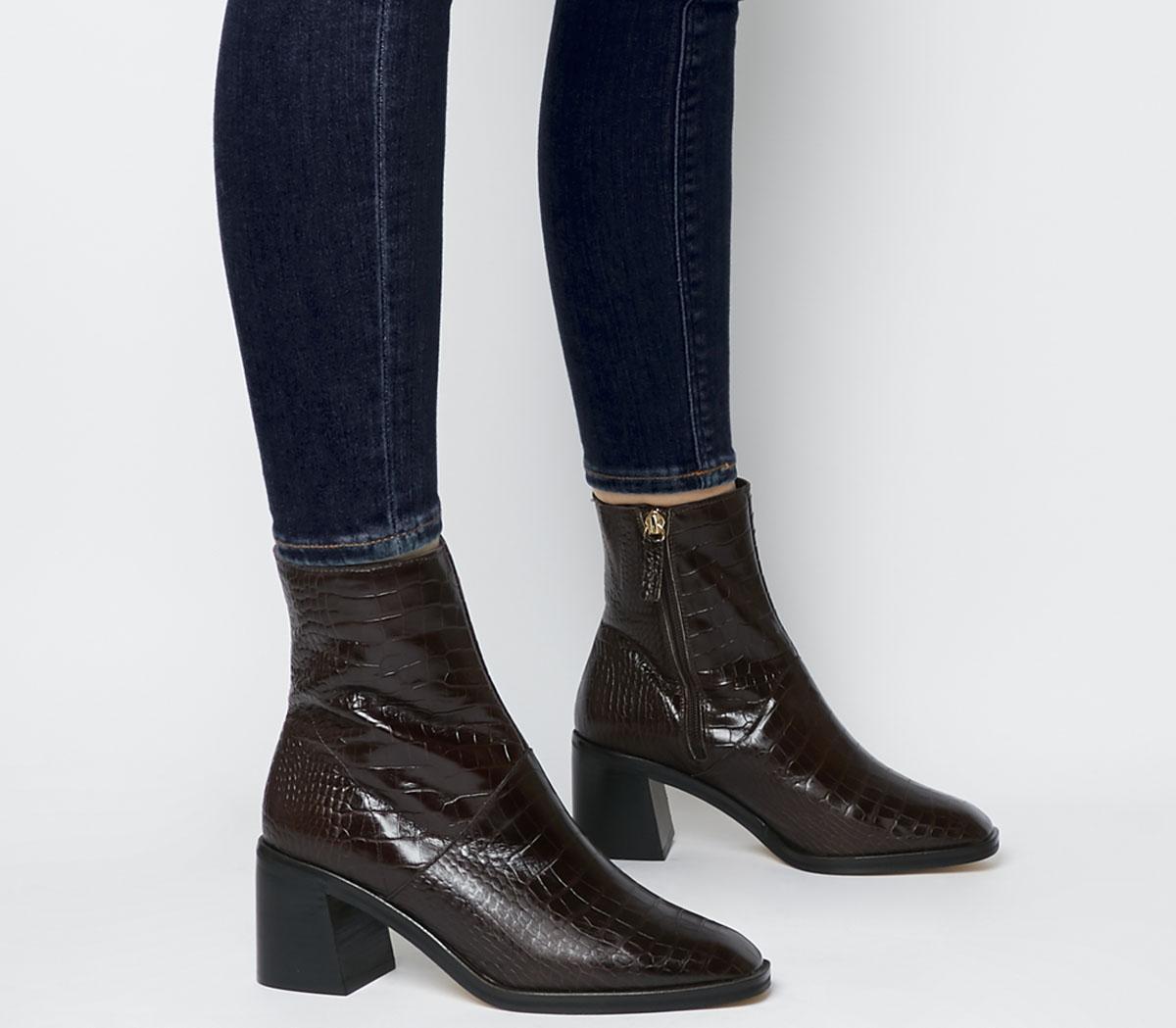 Artisan Block Heel Rand Boots