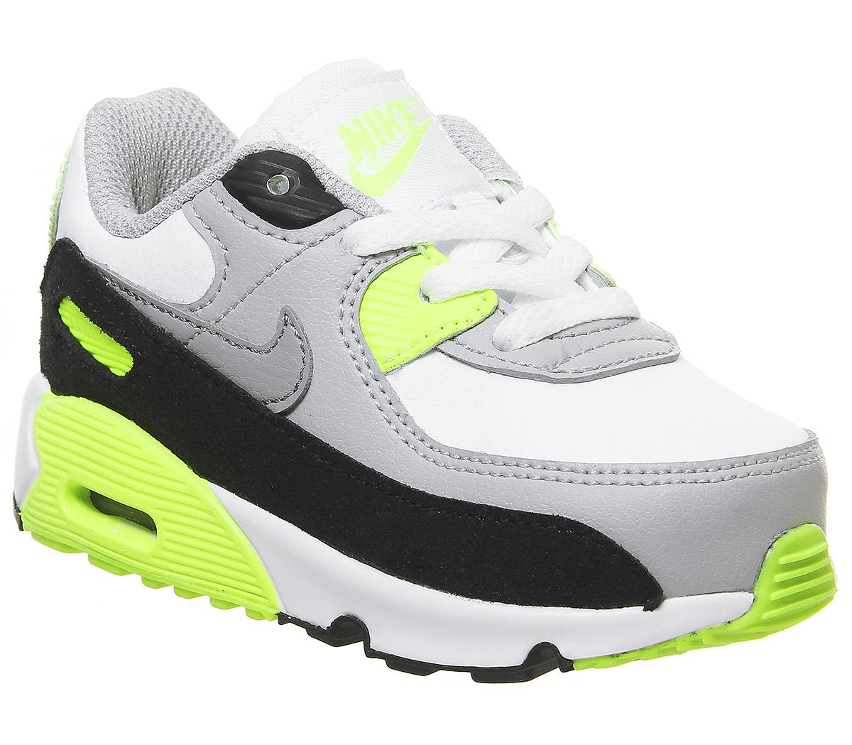 Nike Air Max 90 Infant White Particle